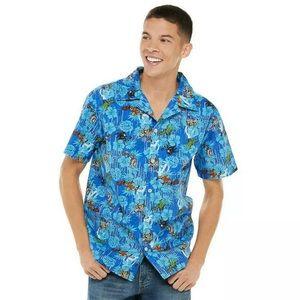 Men's Avengers/Marvel Hawaiian shirt sz S NWT
